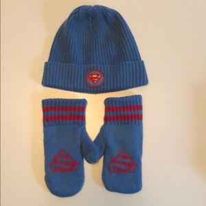Boys Baby Gap hat and gloves. Size M/L like new